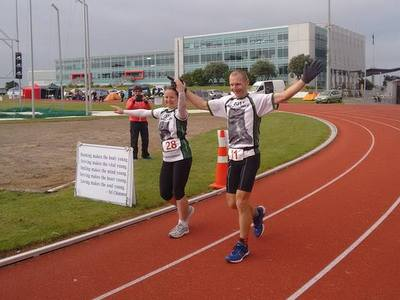 Justin and Sharon pass their 100 miles in NZ